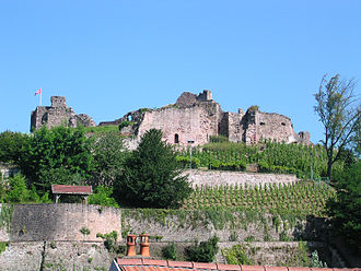 Gautier d'Espinal - The Château d'Épinal, first constructed in the 13th century