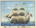Erich Jacob Wedermann - Apollo von Flensburg geführt von Captain Lemmermann - 1839.jpg