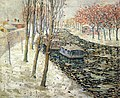 Ernest Lawson - Canal Scene in Winter (1898).jpg