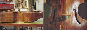 """Violone - A """"G violone"""" by Ernst Busch, in Berlin"""