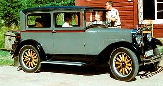 Erskine (automobile) - Erskine Model 51 Sedan 1928