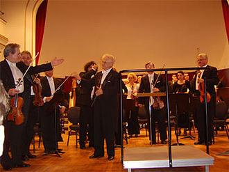 Ervin Acél (conductor) - Ervin Acél in Oradea