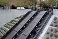 Escalators at Dupont Circle station, Q Street entrance (50948210941).png