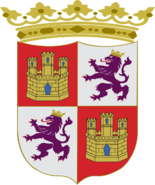 Coat of arms of the Crown of Castile (Castile-León)
