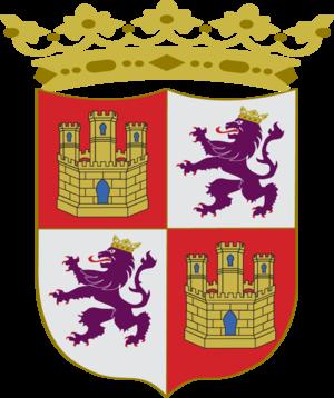 Battle of Nájera - Image: Escudo Corona de Castilla