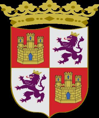 Battle of Winchelsea - Image: Escudo Corona de Castilla