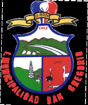 San Gregorio, Chile - Image: Escudo de San Gregorio