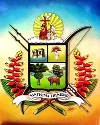 Trinidad, Bolivia - Image: Escudo del bani