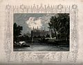 Eton College School from the river with an elaborate border Wellcome V0012639.jpg