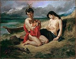 Eugène Delacroix - Les Natchez, 1835 (Metropolitan Museum of Art)FXD.jpg