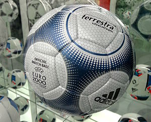 UEFA Euro 2000 - The match ball used at the tournament.