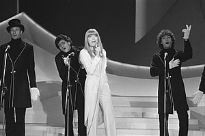 Eurovision Song Contest 1980 - Katja Ebstein during rehearsals
