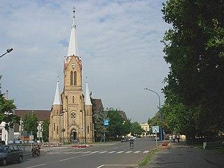 Szentes Town in Csongrád, Hungary