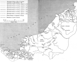 Kingdom of Sarawak in the 1920s.