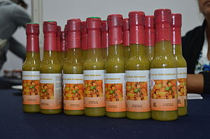 Habanero - Habanero hot sauce from Flor de Lirio, an Indigenous cooperative in Peto Municipality, Yucatán