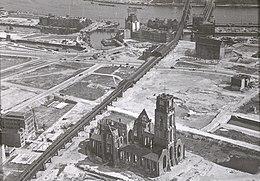 Exterieur OVERZICHT NA BOMBARDEMENT (OORLOGSSCHADE) - Rotterdam - 20264977 - RCE