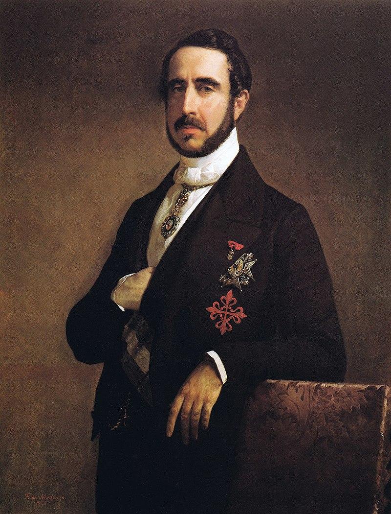 F. de Madrazo - 1850, Mariano Roca de Togores, I Marqués de Molíns (Colección particular, Madrid, 103 x 80 cm).jpg