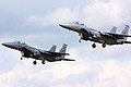 F15 Eagles - RAF Lakenheath July 2009 (3717333794).jpg