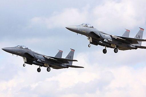 F15 Eagles - RAF Lakenheath July 2009 (3717333794)