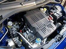 Una recente applicazione del motore FIRE 1.2, su una Fiat 500 (2007)