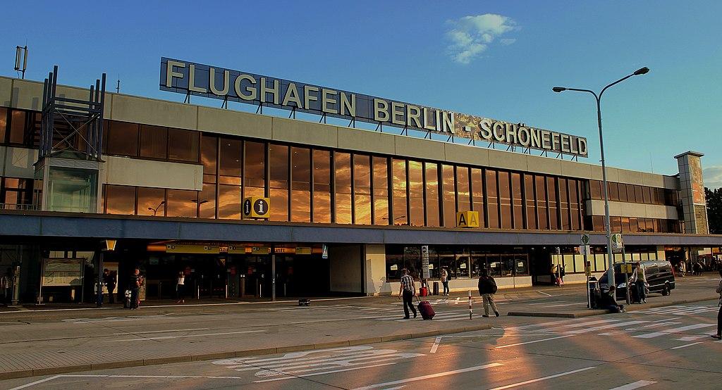 ベルリン・シェーネフェルト空港、2013年撮影