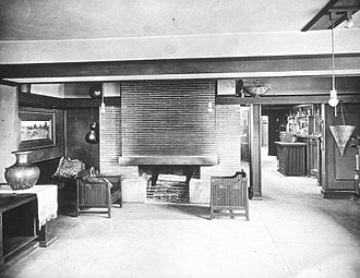 Frank Lloyd Wright Home and Studio - Studio Interior