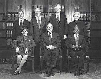 Alice Rivlin - The Federal Reserve Board of Governors in 1997. Rivlin is seated far left.