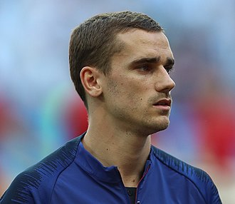 Antoine Griezmann - Griezmann with France at the 2018 FIFA World Cup