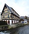 Fachwerkhaus in Thalheim Erzgebirge IMG 0213WI.jpg