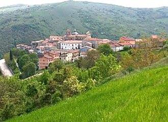 Faeto - Image: Faeto panorama