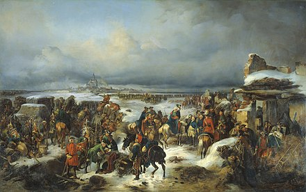 Siege of Kolberg (1761) Fall of Kolberg in 1761.jpg