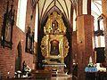 Fara w Grudziądzu-barokowy ołtarz w nawie bocznej.JPG