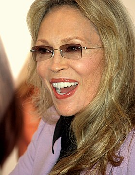 Faye Dunaway at the 2008 Tribeca Film Festival