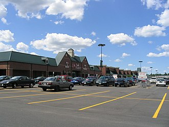 Manlius, New York - Fayetteville Towne Center Shopping Plaza has the greatest number of stores and restaurants in the Town of Manlius.