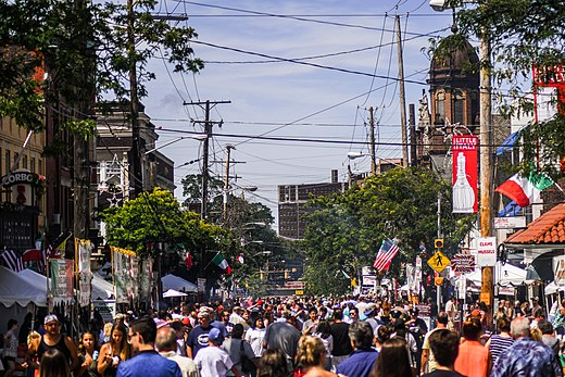 Feast of the Assumption in Little Italy. Feast of the Assumption in Little Italy Cleveland (36388057482).jpg