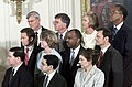 Federal judicial nominees listen to President George W. Bush as he announces their nominations.jpg