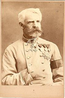 Emanuel Cvjetićanin Austro-Hungarian General