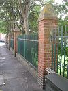 Fence, piers and gate at Brighton College playing fields (IoE Code 480532).jpg