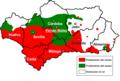 Fernán Núñez en el mapa del ceco, seseo y distinción.png