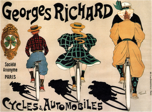 Georges Richard - The Georges Richard automobile business originated with the cycling boom of the 1890s