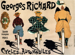 Georges Richard French racing driver and automobile industry pioneer