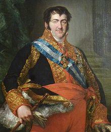 Ferdinand VII. von Spanien (Quelle: Wikimedia)