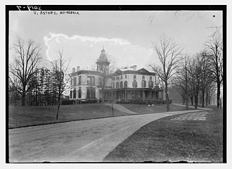 Ferncliff Forest - Ferncliff, the Rhinebeck home of William Vincent Astor, c. 1910
