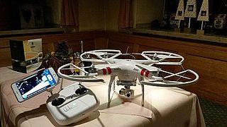 Eine ferngesteuerte Drohne, die für OSM-Mapping geeignet ist.