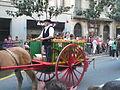 Festa Major de Gràcia 2011 - colles de Sant Medir - XIII cercavila de cultura popular - carrer Gran P1330057.jpg