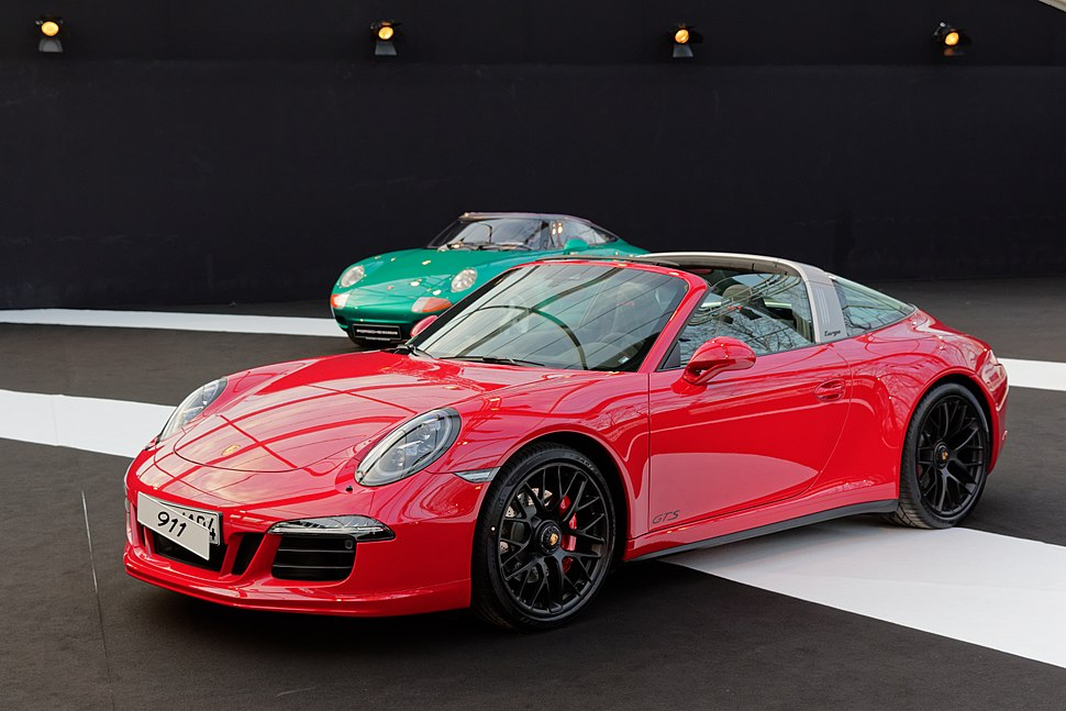 Festival automobile international 2015 - Porsche 911 Targa - 003