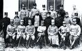 Festungskommandant Hermann von Kusmanek mit seinem Stab 1914.png