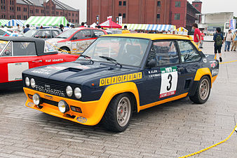 Fiat 131 Abarth: Wikipedia - The 131 as a rally car