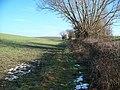 Field edge footpath - geograph.org.uk - 1671791.jpg