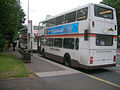 Finglands bus in Manchester 1780 reg R420 SOY.jpg